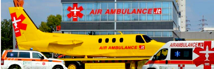 air ambulance mock-up